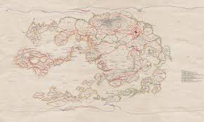 Avatar The Last Airbender Map No Spoilers My Friend Made A Rail Network Map For The World Of