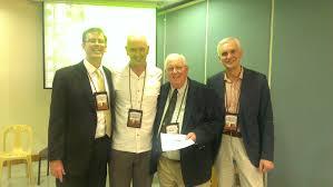 Dr Bill Thomas The President Of Oikonomos Association Dr Siarhei Lukin Took Part