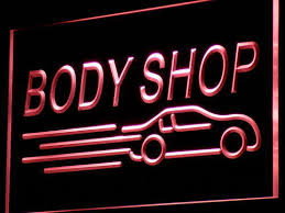 led lights for body shop body shop auto car display new neon light sign wickedneon com neon
