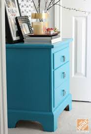How To Repaint A Nightstand Chalky Paint Rescues Old Nightstand Destined For The Curb