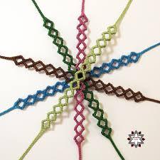 friendship bracelet knots images Macramotiv micro macrame knotted bracelet tutorial diy knotting jpg