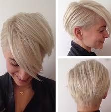 Pfiffige Kurzhaarfrisuren F Frauen by Pfiffige Kurzhaarfrisuren Für Frauen Mit Blonden Haaren Neue