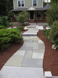 Front Patios Design Ideas by Pattern For Walkway Bluestone Patio Fits Precisely And Offers