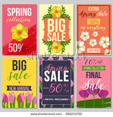 set abstract sale cards stock vector 544385629