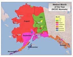 Kodiak Alaska Map by Deep Cold Interior And Northern Alaska Weather U0026 Climate