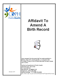 birth certificate correction sample letter affidavit of birth 11 free templates in pdf word excel download california affidavit to amend a birth record