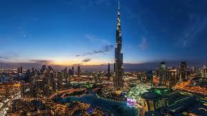 burj al khalifa city lights wallpaper hd download desktop