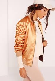 bomber jackets women u0027s satin bomber jackets missguided