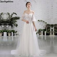 compare prices on beach wedding dresses online shopping buy