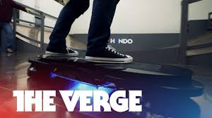 new lexus hoverboard price riding the hendo hoverboard youtube