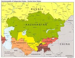 Russia Map Allrussias Central Asia And Russia Map Grahamdennis Me