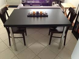 Ikea Dining Table And Chairs by Dinner Table And Desk Cheap And Easy Ikea Hackers Ikea Hackers