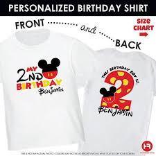 mickey mouse birthday shirt durable modeling mickey mouse t shirt birthday shirt mickey