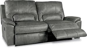 la z boy charger la z time 2 seat full leather reclining sofa