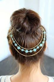 accessorize hair to accessorize your top knot bun