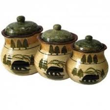 style kitchen canisters country canister sets for kitchen foter