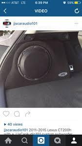 lexus jordan facebook 2011 2015 lexus ct200h custom sub box no speaker for sale in la
