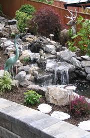 garden waterfall ideas home outdoor decoration