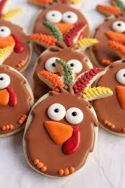 turkey sugar cookies easy turkey cookies pineapple cutter the bearfoot baker