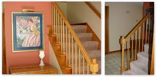 What Is A Banister On Stairs by How To Seagrass Stair Runner Shine Your Light