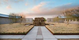 Light And Landscape - s a architects awarded for marfa project of light and shadow