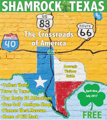 Map Of Old Route 66 by Visit Shamrock Texas Home Facebook