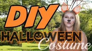 easy cheap diy halloween costume cute deer costume tutorial