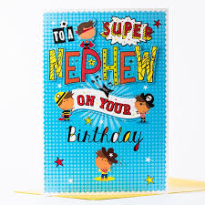birthday cards for nephew birthday card nephew only 99p