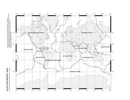 Blank World Map Pdf by Discovering Plate Boundaries Home