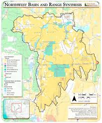 Map Of The Northwest Great Basin Landscape Conservation Cooperative Northwest Basin