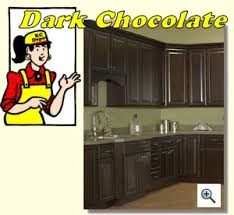 dark chocolate kitchen cabinets dark chocolate kitchen cabinet depot