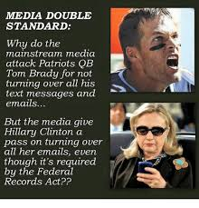 Texts From Hillary Meme - mmedia double standard why do the mainstream media attack patriots