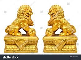 gold lion statue gold lion statue stock photo 108823508