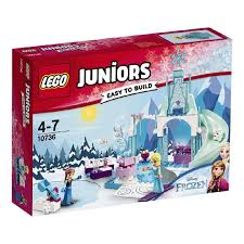 disney princess lego juniors anna u0026 elsa u0027s frozen playground 10736