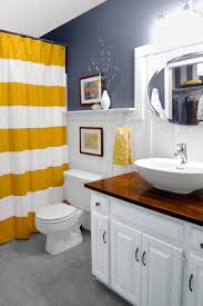 Yellow And Gray Bathroom Ideas Colors 23 Savvy And Inspiring Small Bath Designs Cottage Bath Bath And