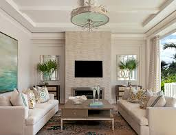 Coastal Contemporary Beach Style Living Room Miami By - Beach style decorating living room
