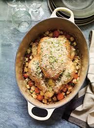 cuisiner poulet entier poulet rôti au citron et aux deux céleris ricardo