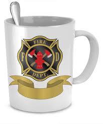 Mug Designer Personalized Fire Department Mug