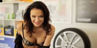 ford commercial actress bra commercial banned after claims of being u0027degrading and