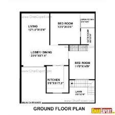 houseplan for first floor 33 40 ft plots for 3bhk gharexpert com