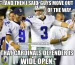 Brandon Weeden Memes - tony romo sportige part 6