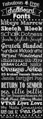 u0026 free chalkboard fonts