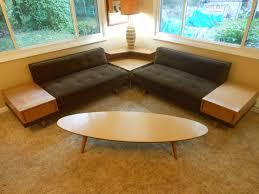 Midcentury Modern Sofas - vtg mid century heywood wakefield era danish sectional sofas