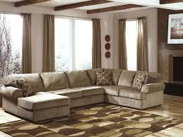 Black Fabric Reclining Sofa by Living Room Cream Stained Wall Soft Gray Fabric Reclining Sofa