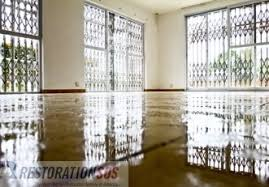 How To Dry Flooded Basement by Learn How To Clean Repair And Disinfect Flooring Materials After