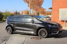 renault espace mysterious renault espace mule makes it easy to speculate