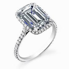 engagement rings uk astounding emerald cut halo engagement rings uk to