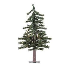 vickerman pre lit alpine tree with 35 clear mini