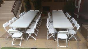 tables and chair rentals el segundo party rentals table chair rentals big blue sky