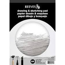 reeves drawing u0026 sketching pad a4 150gsm 50 sheets